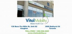 Vital Mobility home healthcare products