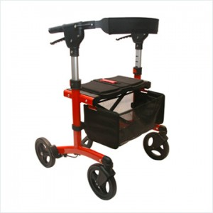 Red Triumph Escape Rollator