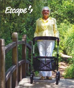 Escape rollator in action