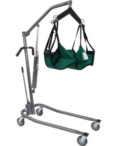 Low Hydraulic, Deluxe Silver Vein Patient Lift