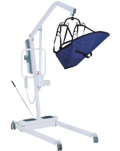 Battery Powered Patient Lift with 6 Point Cradle