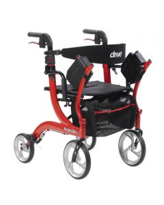 Rollator Setting Nitro Duet Rollator and Transport Chair by Drive