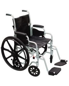 POly Fly High Strength Wheelchair Transport Chair Drive Medical