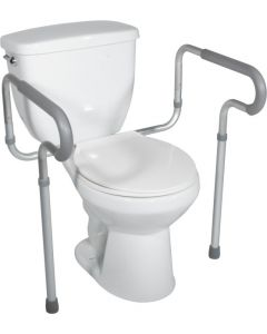 Toilet Safety Frame with Padded Arms by Drive