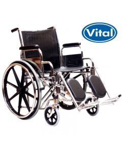 Manual Mobility Wheelchair with Elevating Legrests