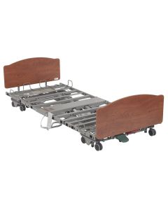 PrimeCare P903 Hospital Bed Package- Low, Expandable, Bariatric LTC Bed