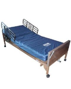 Pre-owned Electric Hospital Bed with Mattress & Safety Rails