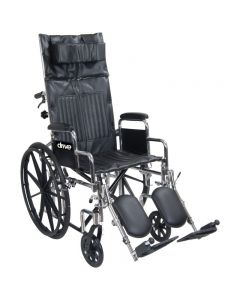 Chrome Sport Full Recline Wheelchair