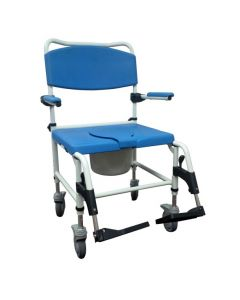 Bariatric Aluminum Shower Rehab Commode by Drive