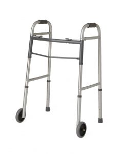 Guardian Two Button Folding Walker