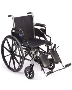 Invacare Tracer SX5 Lightweight Wheelchair Elevating Legrests