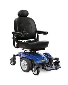 Jazzy Select 6 Power Wheelchair Blue