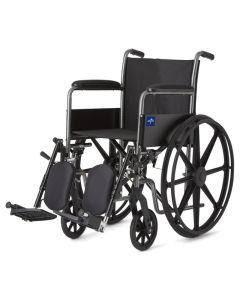 Medline K1 Basic Wheelchair with Elevating Legrests