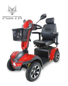 FOXTR 3 Heavy Duty 4-Wheel Mobility Scooter