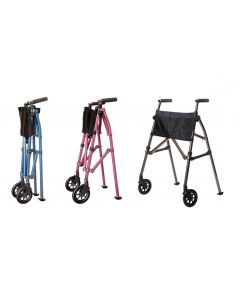 Colour Options EZ Fold-N-Go Walker by Stander