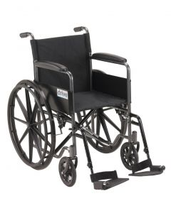 Wheelchair for Rent A - Swing Away Footrests