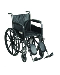 Wheelchair for rent - B Elevating Leg Rests