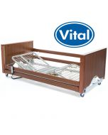 VitalFlex Low Homecare Bed Walnut